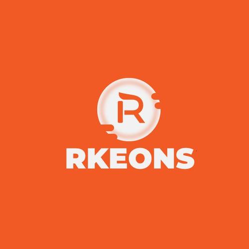 Rkeons logo design