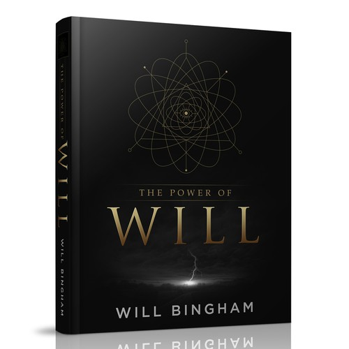 """The Power of Will"" Book Cover Design"