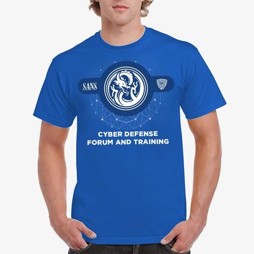 Shirt design for training