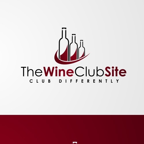 Create an inviting, modern logo that will make wine clubs look good.