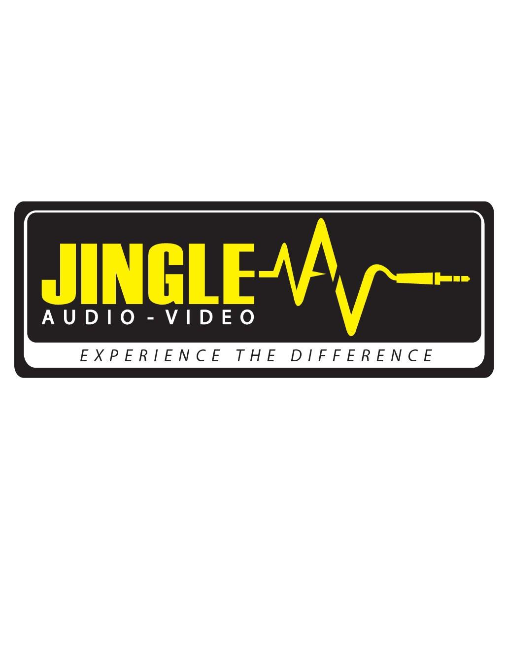 Design a lasting logo for Jingle AV (Audio Video)