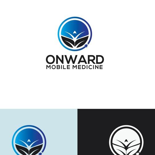 Onward Mobile Medicine Logo Concept