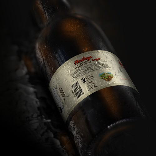 Jamaican beer bottle