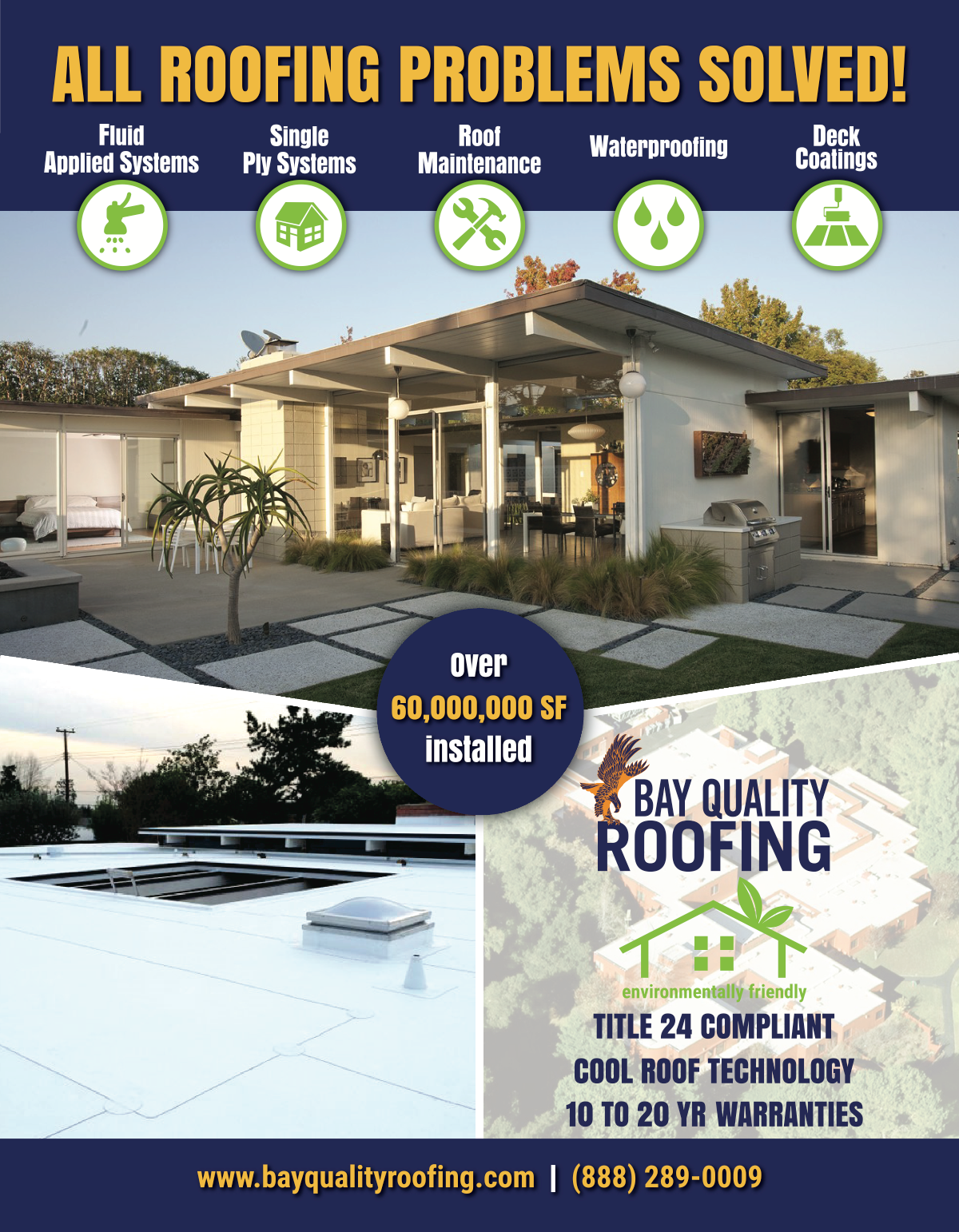 Residential Flat Roof Mailer