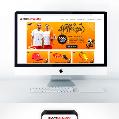 Slider and banner web design