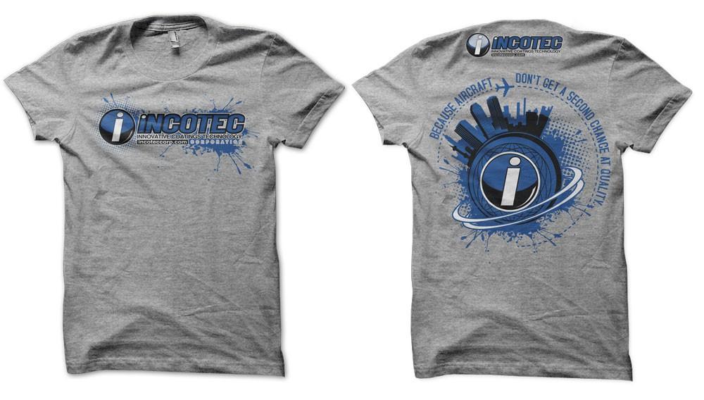aerospace company t-shirt design