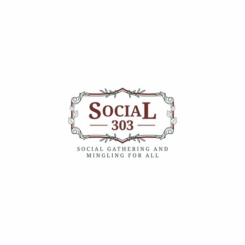 Classic and vintage style design for Social 303