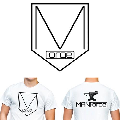 Create a bold logo for men's fashion company Manforge