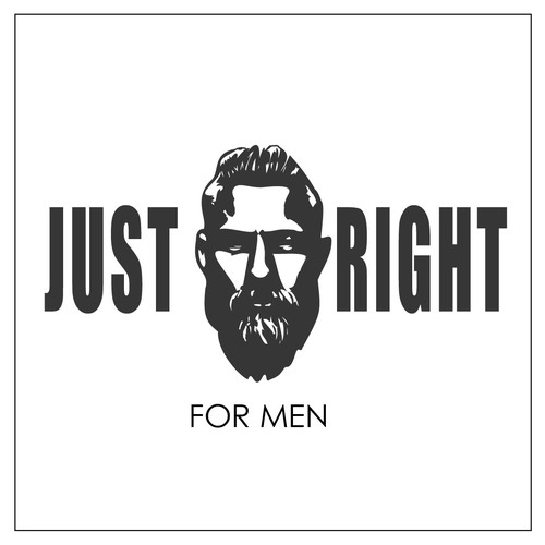 Design a Beard Dye Logo geared towards men