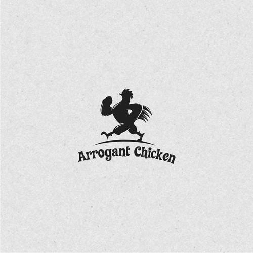 Arrogant Chicken Apparel Logo Design