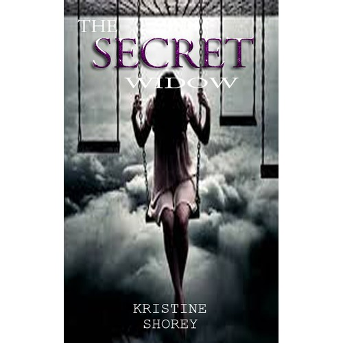 """Create a  cover design for """"The Secret Widow,"""" a cautionary tale of a young widow's experience"""