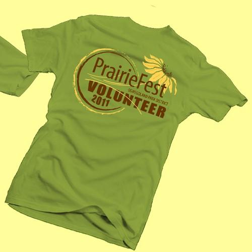 PrairieFest Volunteers - We Sweat the Small Stuff!