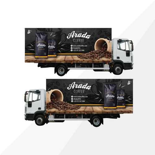 Coffee truck design