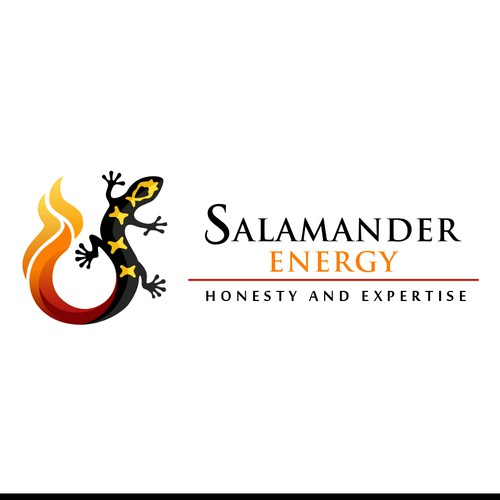 Create a sophisticated logo for an Energy Consulting company - Salamander Energy