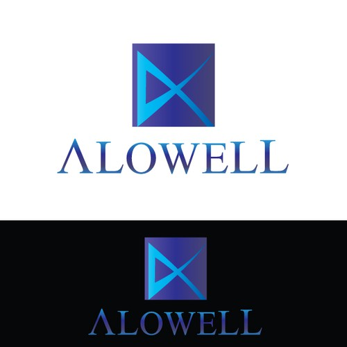 Alowell needs a new logo and business card