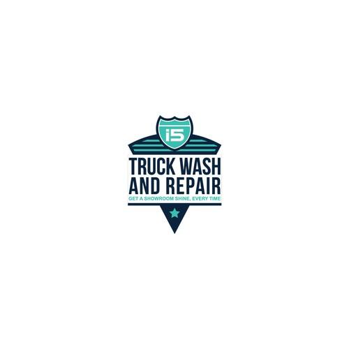 Logo Design for Truck Wash