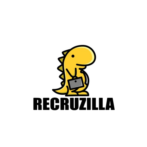 Dinosaurs became employees of the logo