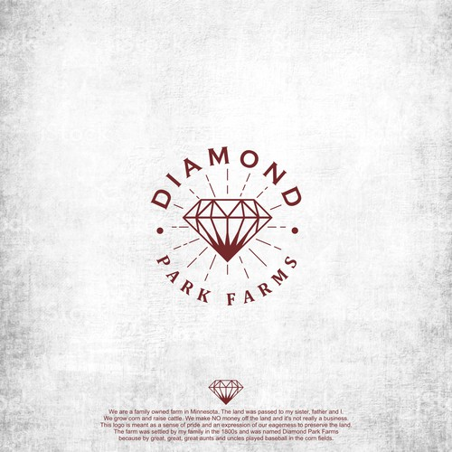 vintage diamond logo
