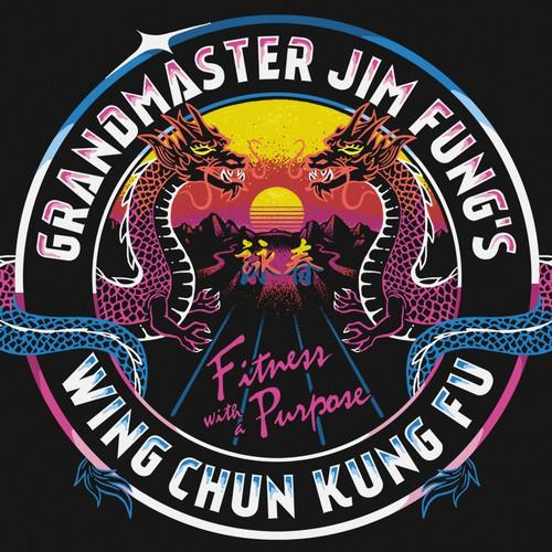 T-shirt design for a Kung Fu Gym