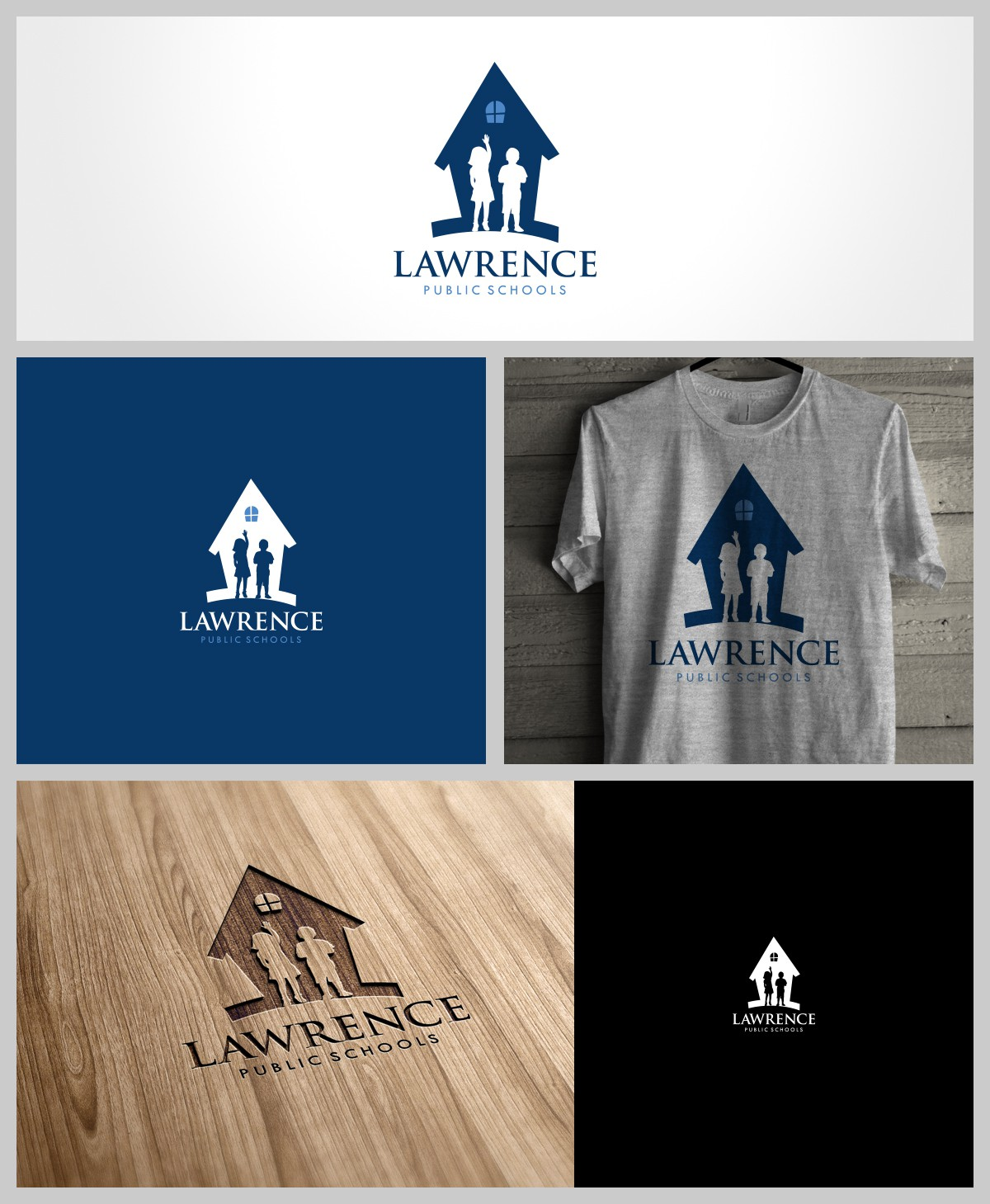 Lawrence Public Schools needs a new logo