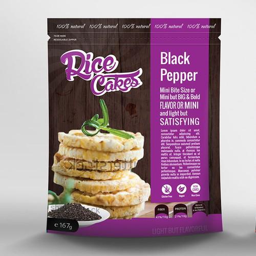 Packaging Design for Rice Goes Crispy