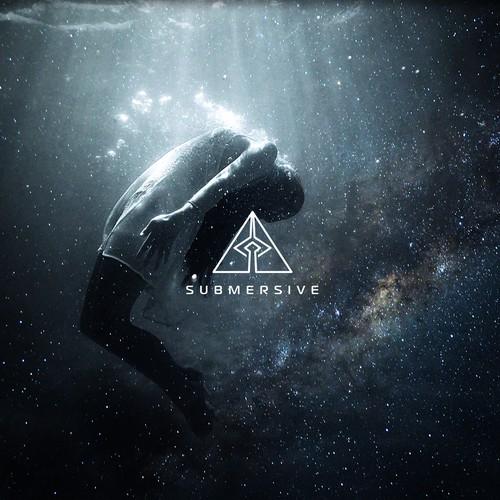 Logo for SUBMERSIVE, progressive trance and psytrance producer