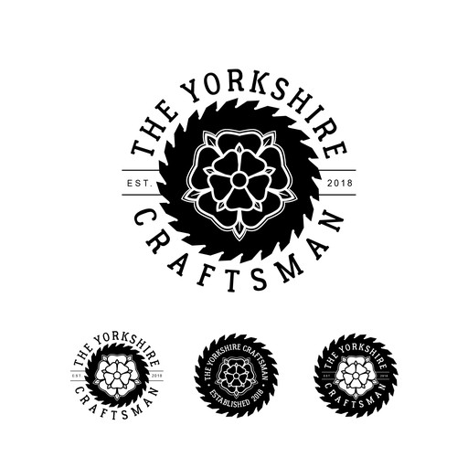 Bold Logo using the Yorkshire Rose.