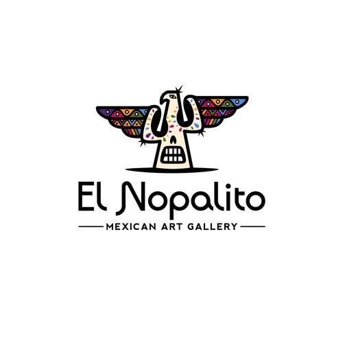 Bold logo for El Nopalito