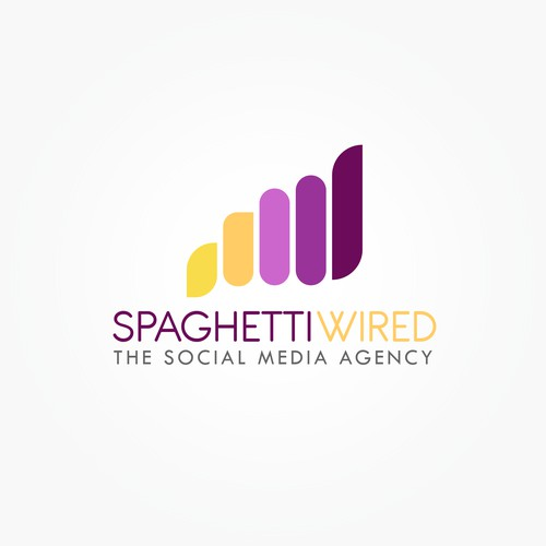 Logo for a social media agency (Food)