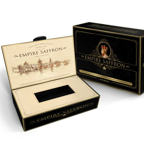 Luxury spice, packaging design