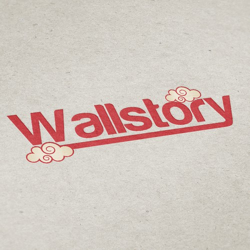 Awesome logo for an urban/vintage wall art website