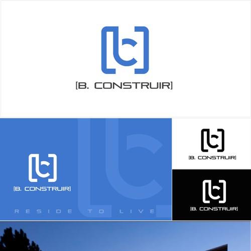 Minimalist logo for real estate segment