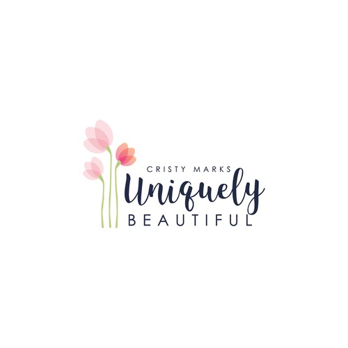 Logo for brand that empowers women to be UNIQUELY BOLD