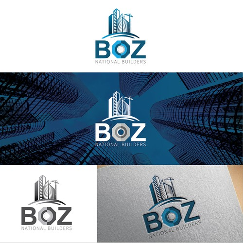 BOZ National Builders Logo