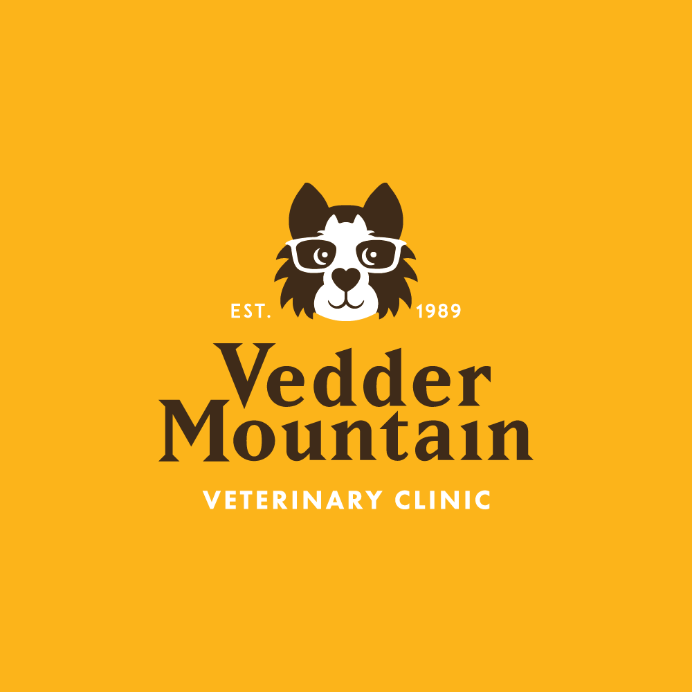 Help us wow the crowds by designing a cool new logo for Vedder Mountain Veterinary Clinic!