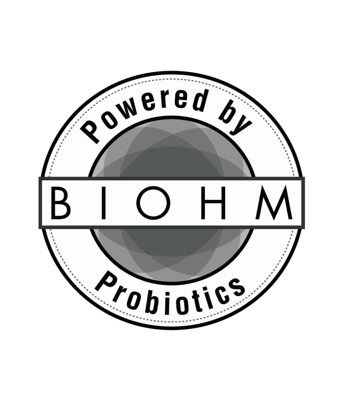 Powered By BIOHM logo