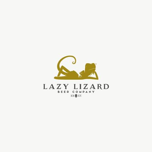 Elegant logo for Lazy Lizard