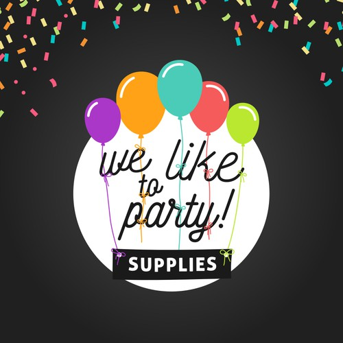 We like to party! - party supplies