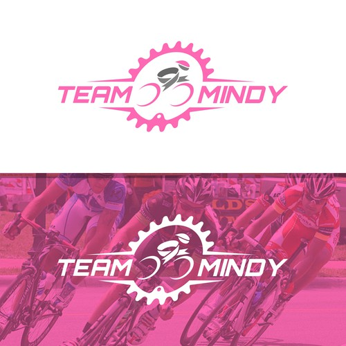 Ribbon Cycling Logo Concept