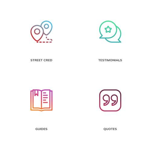 Icon Designs for Skipio