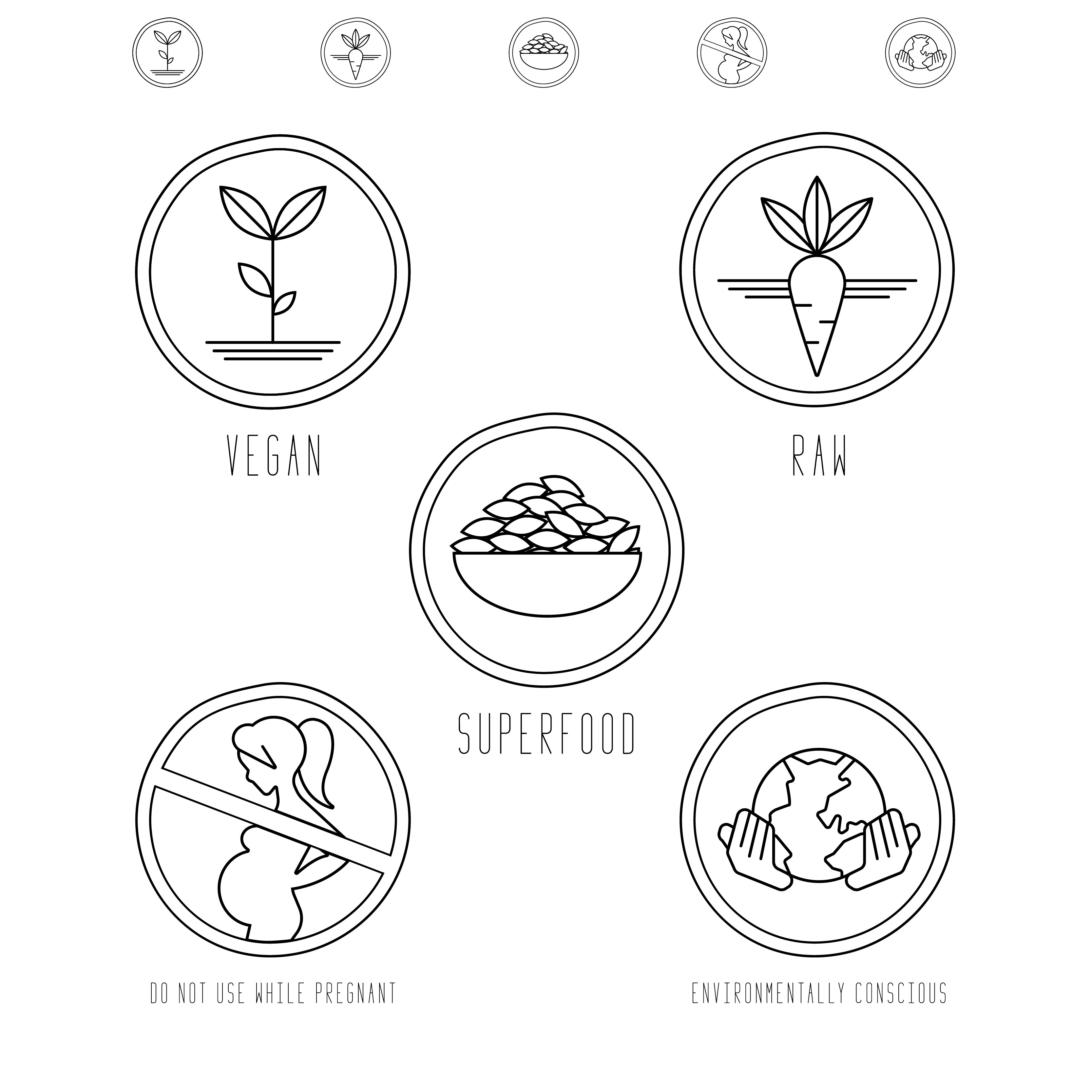 ICONS for FOOD COMPANY