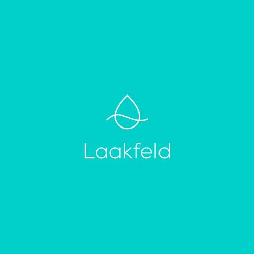Minimalistic logo for Laakfeld