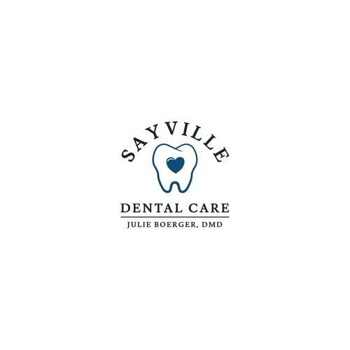 a logo for dental care