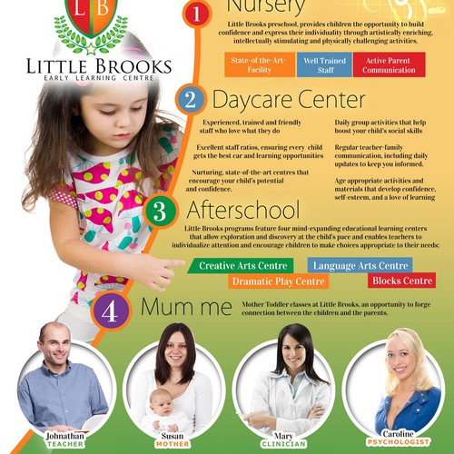 Preschool and Daycare center Flyer
