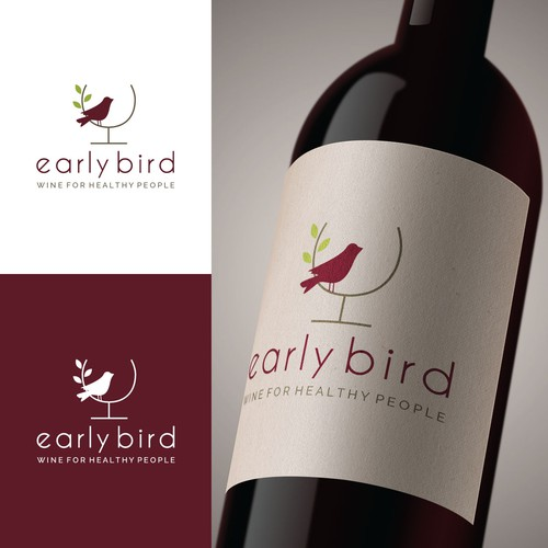 Logo for healthy wine