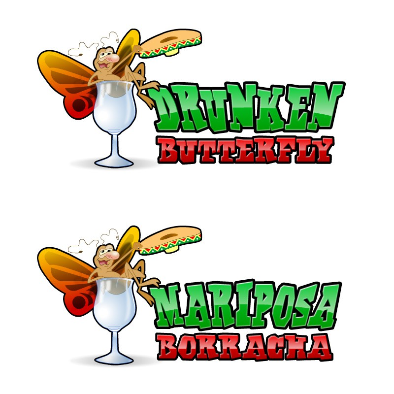 New logo wanted for Mariposa Borracha (Drunken Butterfly)