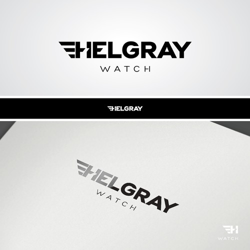 Create a logo for a watch company