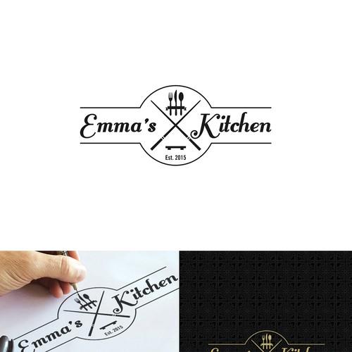 logo concept for Emma's Kitchen