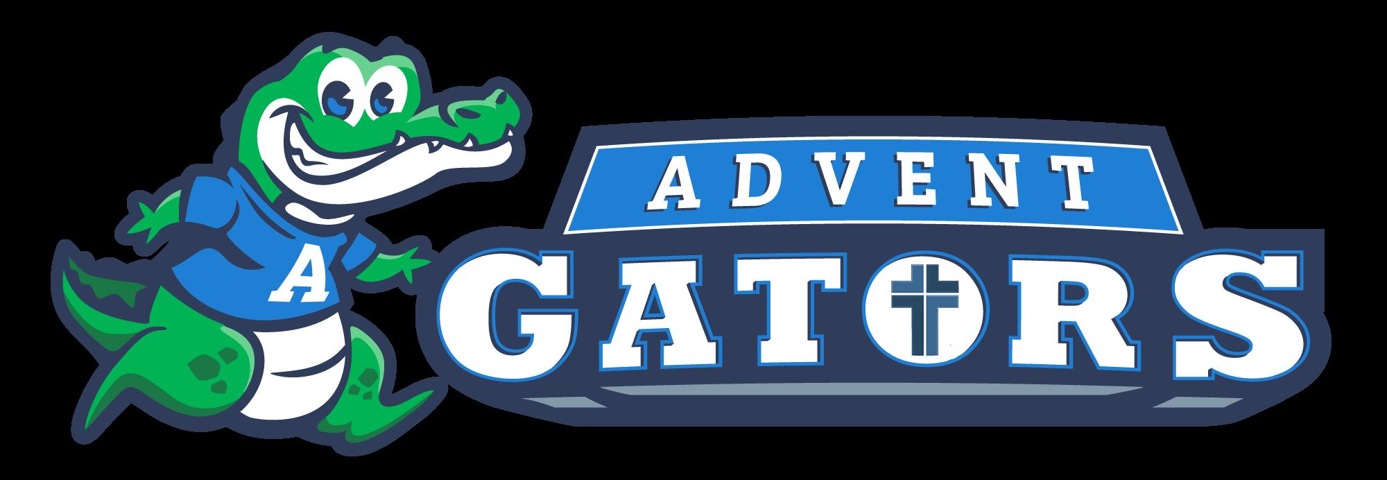Advent School Gator Mascot Design