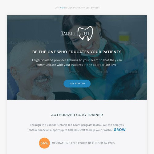 Email Template for Dentist Consultant